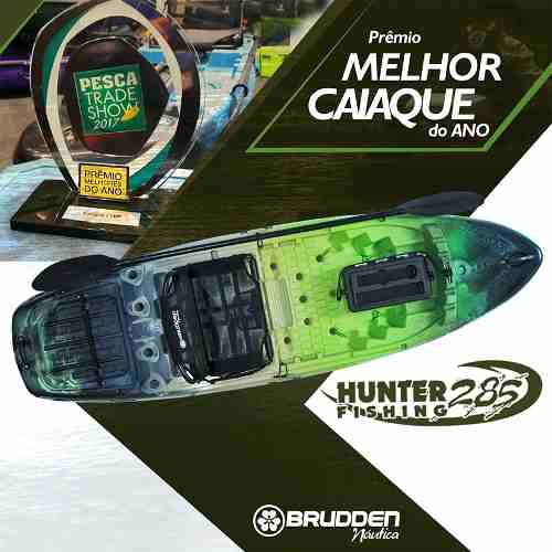 3059fb085 RS Pesca - Caiaque Hunter Fishing 285 com Cooler 15lts - Combo