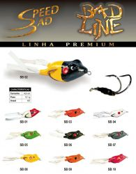 Isca Artificial - Speed Bad - Bad Line