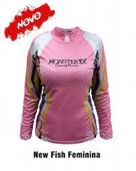 Camisa New Fish Feminina - Monster3X
