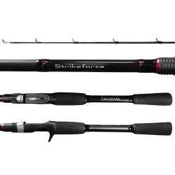 Vara Strikeforce - Carretilha - 2 partes - Daiwa