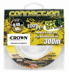 Linha Multi 9X Connection Amarela - 300m - Crown
