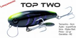 Isca Artificial Top Two - Wake Bait - OCL