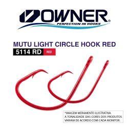 Anzol Mutu Light Circle Red (5114) - Owner