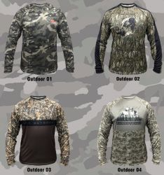 Camisa Outdoor - Monster3X