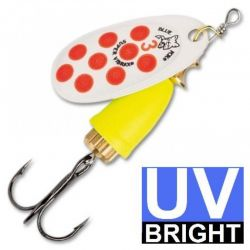 Isca Artificial Spinner Vibrax UV - BFU3 - Blue Fox