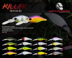 Isca Artificial - Killer Shad - Matadeira