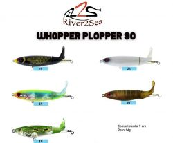 Isca Artificial Whopper Plopper 90 - River2Sea
