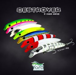 Isca Artificial - Destroyer 95 - Yara