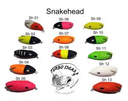 Isca Artificial - Snake Head - Turbo Iscas