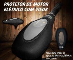Capa / Protetor de Neoprene para Motor Elétrico  com Visor - Jogá
