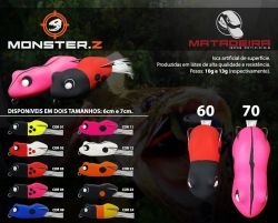 Isca Artificial - Monster.Z - Matadeira
