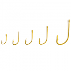 Anzol - Crystal - Gold - Arsenal da Pesca