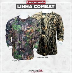 Camisa Combat - Monster3X
