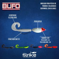 Isca Artificial Bufo c/ 2 grubs - Pure Strike