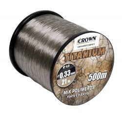 Linha Mono Titanium - 500m - Crown